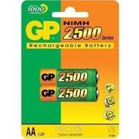 Фото GP Batteries AA 2500mAh NiMh 2шт (250AAHC)