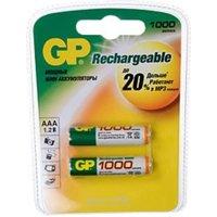 Фото GP Batteries AAA 1000mAh NiMh 2шт (100AAAHC)