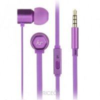 Фото KitSound Hive In-Ear Headphones Purple (KSHIVBPU)