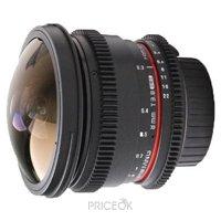 Фото Samyang 8mm T3.8 AS IF UMC Fish-eye CS II VDSLR Minolta A