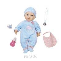Фото Zapf Creation Baby Annabell Кукла-мальчик многофункциональная, 46 см (794654)