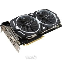 Фото MSI GeForce GTX 1070 ARMOR 8G OC