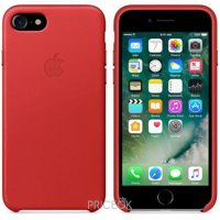 Фото Apple iPhone 7 Leather Case - (PRODUCT)RED (MMY62)