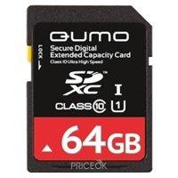 Фото Qumo SDXC Class 10 UHS Class 1 64Gb