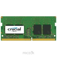 Фото Crucial 8GB SO-DIMM DDR4 2133MHz (CT8G4SFD8213)