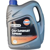 Фото Gulf Oil Superfleet Supreme 10W-40 4л