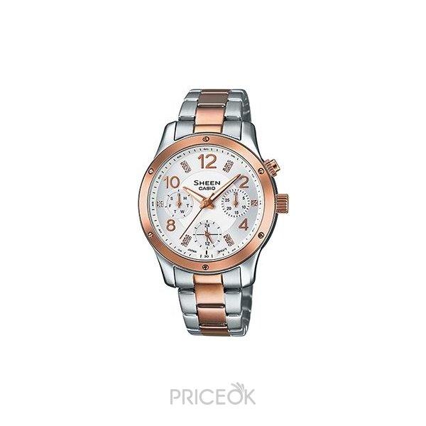 1945e4e4 Купить Casio SHE-3807SPG-7A в Перми. Цены на Наручные часы Casio SHE ...