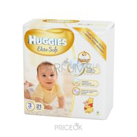 Фото Huggies Elite Soft 3 (21 шт.)