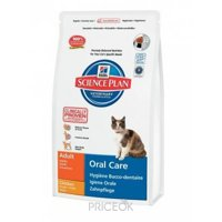 Hill's Science Plan Feline Adult Oral Care курица 1,5 кг