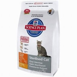 корм для кошек  Hill's Science Plan Feline Young Adult Sterilised Cat Chicken 3,5 кг