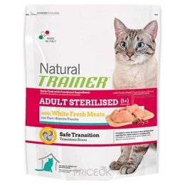 Фото Trainer Natural Adult Sterilised White Meat 1,5 кг