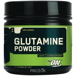 Аминокислоту Optimum Nutrition Glutamine Powder 600g