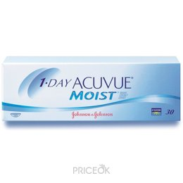 Контактную линзу Johnson&Johnson 1-Day Acuvue Moist