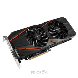 Фото Gigabyte GeForce GTX 1060 G1 Gaming 6Gb (GV-N1060G1 GAMING-6GD)