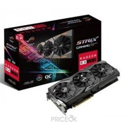 Видеокарту ASUS Radeon RX 580 STRIX GAMING 8Gb (ROG-STRIX-RX580-O8G-GAMING)