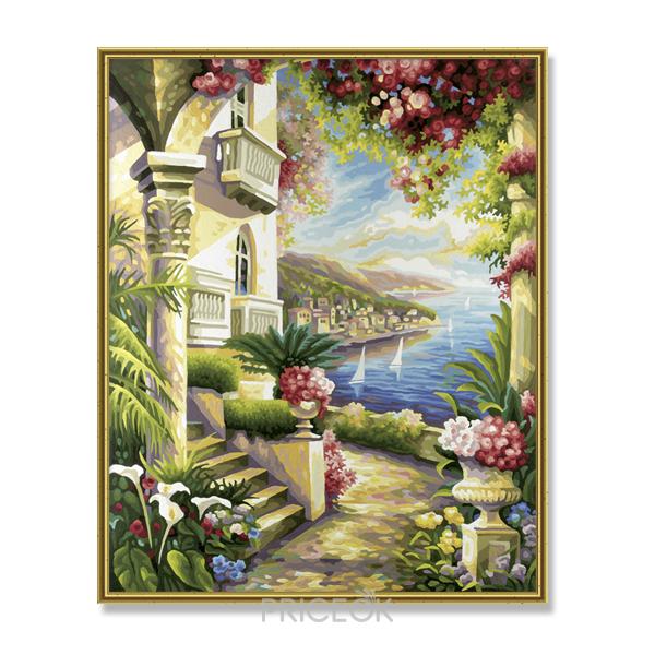Картины-раскраски по номерам — полезное... - Shoptema.ru